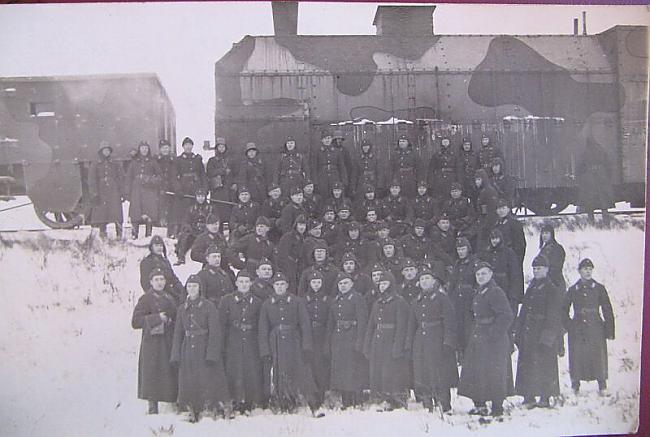 2 Bruņotais vilciens uz 1919... Autors: Meisele Latvijas armijas bruņoto vilcienu pulks