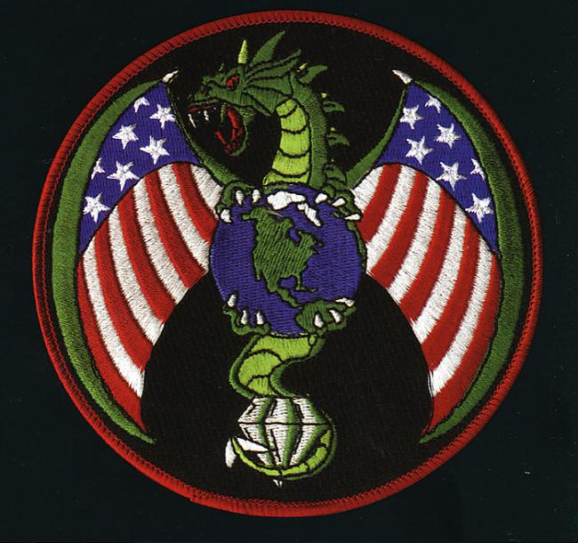 NRO drakonsnbspUzscaronuve... Autors: Lestets ASV slepeno militāro projektu uzšuves
