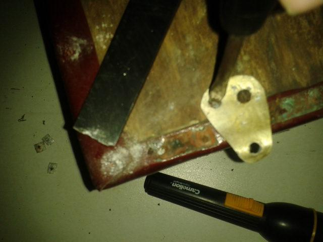 Un sākas problēmas ar skrūvju... Autors: Naiklavs Tumbiņas atjaunošana
