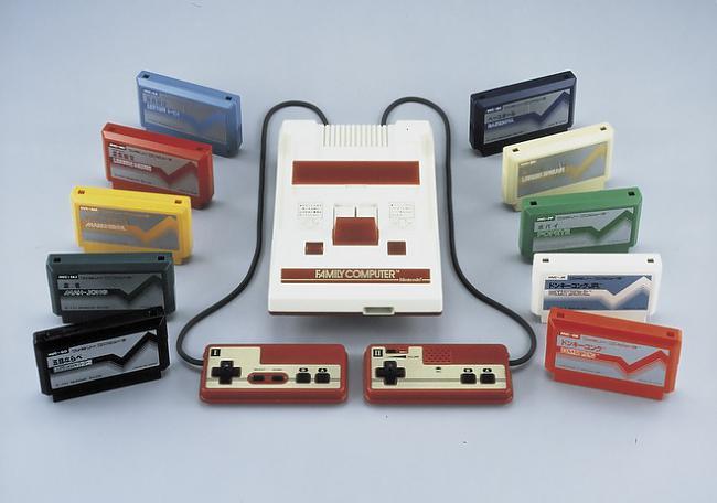 Family computer konsoli ražoja... Autors: Kaskijs Spēļu konsole famicom