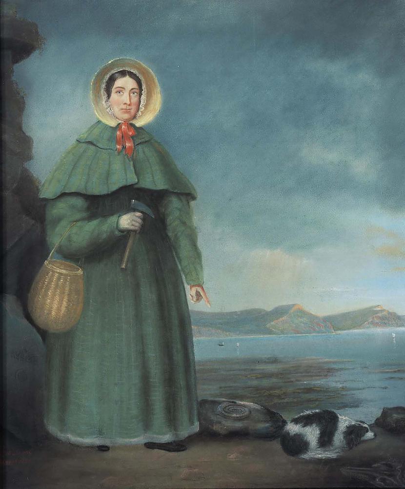 Mērija Eninga 17991847 bija... Autors: Kapteinis Cerība Fakti par Dinozauriem 2. daļa.