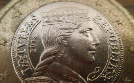 Visskaistākā no eiro monētām... Autors: Fosilija Manas Instagram bildes 2