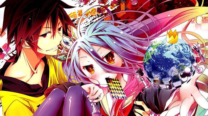 quotNo Game No LifequotStāsts... Autors: TheMix Vieni no labākajiem Anime kurus ir jānoskatās