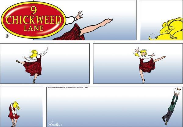 9 Chickweed Lane Autors: bombongs Komiksi citādāki, angliski.