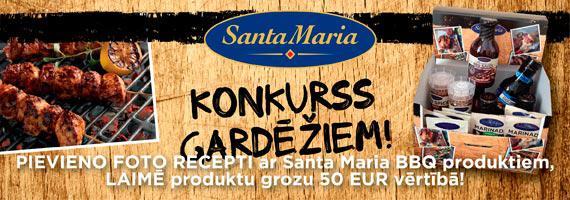 Scaronogad Santa Maria... Autors: Spoki Receptes.lv un Santa Maria izsludina konkursu gardēžiem!
