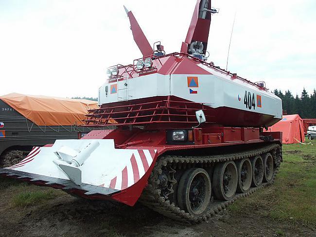 nbsp nbspGadījumiem kad viss... Autors: Mao Meow SPOT-55 – tanks ugunsdzēsējiem!