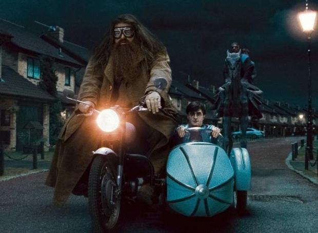 Hagrids tika pie superīga... Autors: sancisj 100% Nezināmi fakti par Hariju Poteru.