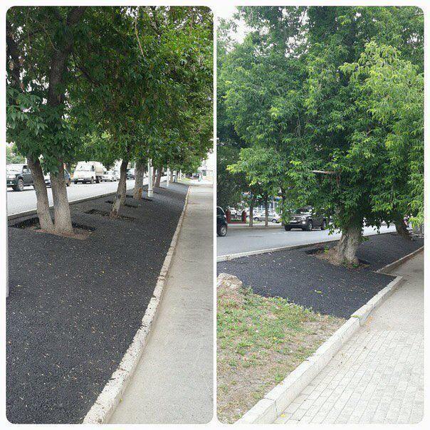 vai aizstāt ar asfaltu Autors: Raziels Kārtības ievešana a la Russia