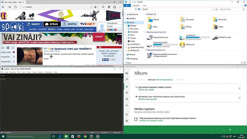 MultiTasking Autors: jamesonz Par Windows 10
