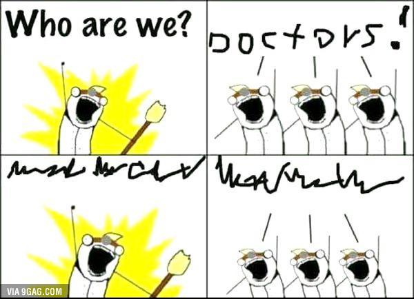 Autors: slida Pāris jociņi par dakteriem