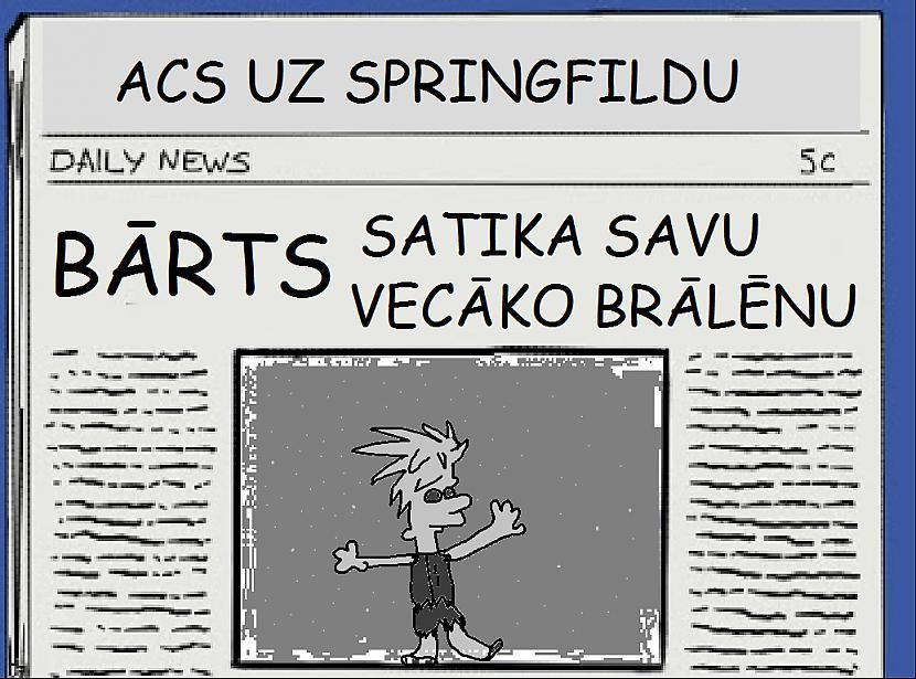 Autors: The simpsons fox SImpsonu avīzē...