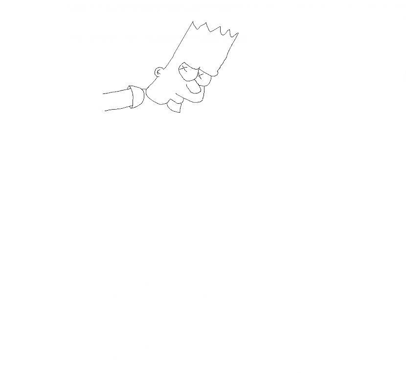 Autors: The simpsons fox Kā uzīmēt bārtu simpsonu