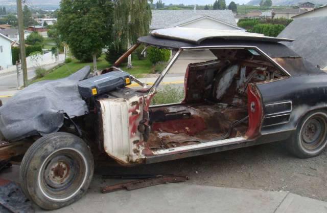 Autors: im mad cuz u bad Iegulda 300 tūkstošus dolāru, lai restaurētu mašīnu