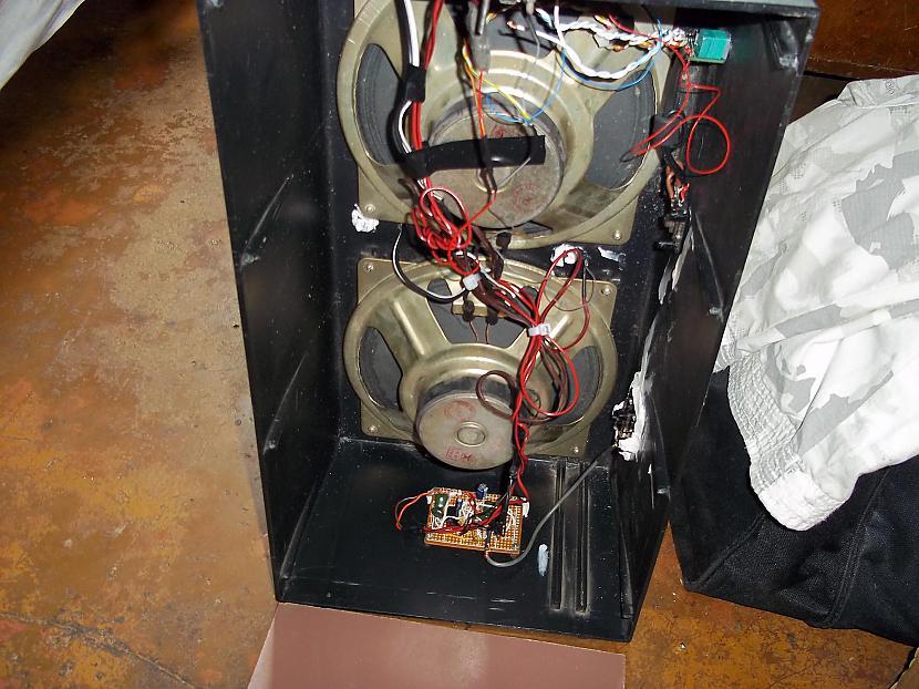 iekspuses kopskats Autors: jons TDA2822M un PAM8403 tumbiņa