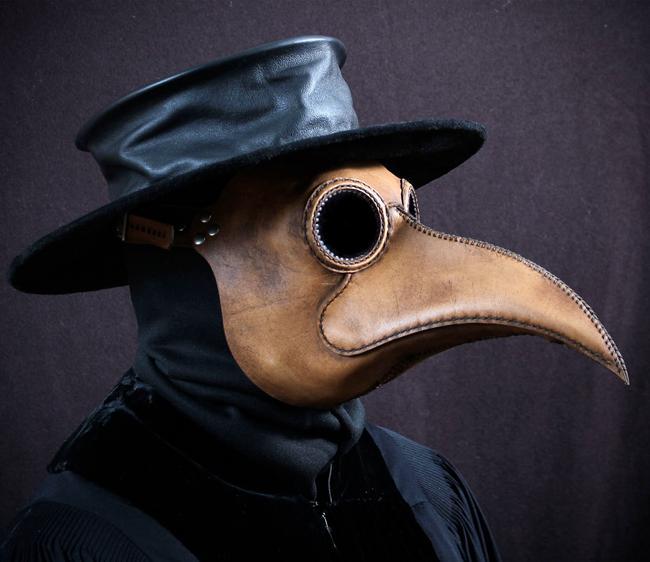Mēra daktera maskanbspLaikā... Autors: sancisj Creepy maskas no pagātnes