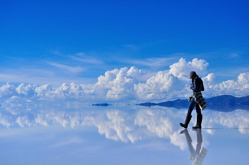 Atspīduma tuksnesis Salar de... Autors: im mad cuz u bad Elpu aizraujošas vietas uz Zemes