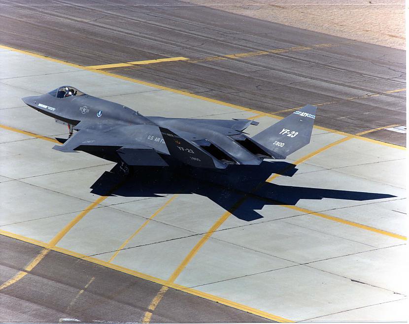 nbsp nbspBet neskatoties uz... Autors: Mao Meow YF-23 – Neredzamā lidmašīna!