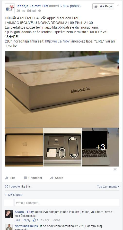 Ska MacBooks skaisti ietaupīsi... Autors: matilde Cilvēki ir naivi vai stulbi? Nu nereāla labdarība!