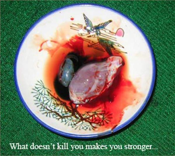 Kobras sirdsKobras sirds ir... Autors: Alevender Dīvainākie ēdieni dažādās pasaules malās!