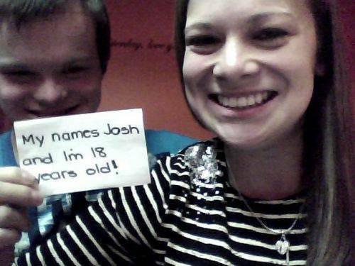 quotMans vārds ir Džošs un es... Autors: twist Aizkustinošs stāsts par zēnu ar dauna sindromu.