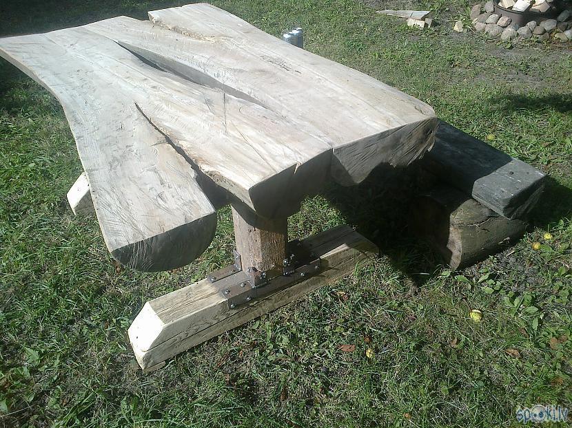Skats no otras puses Parametri... Autors: KOMANDI3RIS Žāklītis par āra galdu.