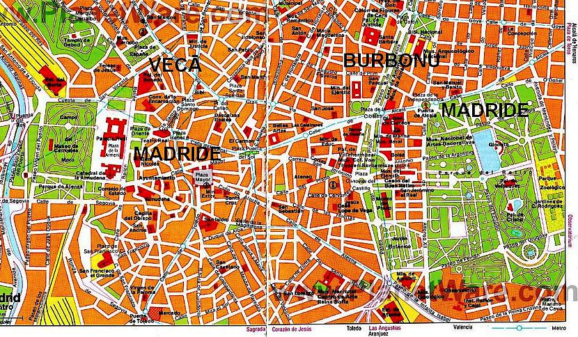 Katrai scaronij daļai būs... Autors: Pēteris Vēciņš Vecā labā Madride. Spānijas citadele Madride 1. daļa.