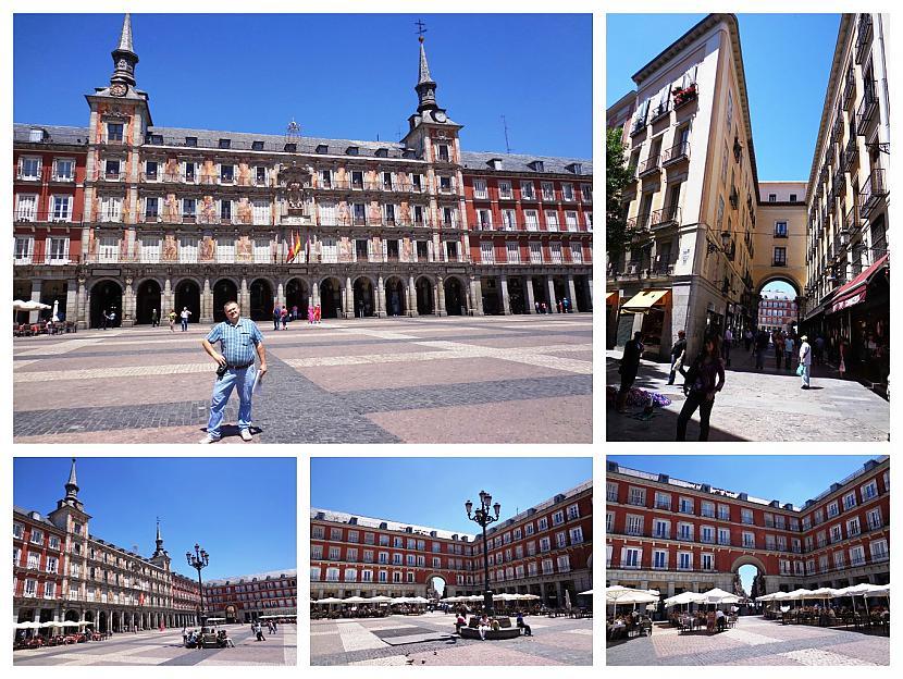 nbspScaronodien laukuma centrā... Autors: Pēteris Vēciņš Vecā labā Madride. Spānijas citadele Madride 1. daļa.