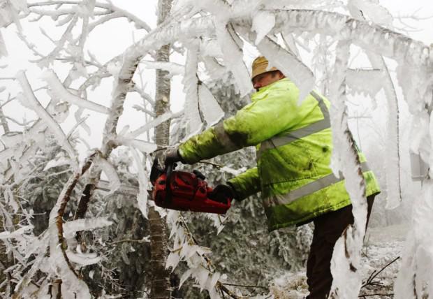 Visi scaronajā ciematā... Autors: mezatrollis Auksti ir ne tikai Sibīrijā, bet arī Eiropā