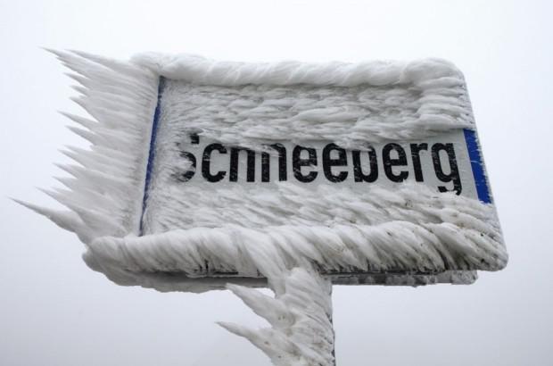Scaronādi izskatās sasalusi... Autors: mezatrollis Auksti ir ne tikai Sibīrijā, bet arī Eiropā