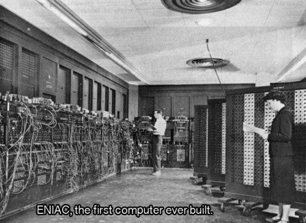 ENAIC pirmais dators kas... Autors: twist 18 vēsturiskas bildes, par kurām pasaule gandrīz ir aizmirsusi.
