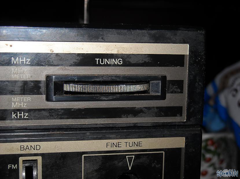 Frekvenču regulējamā poga... Autors: DamnRiga Boombox Sanyo C35 remonts