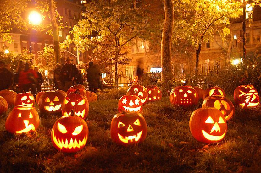 Murgs pirms HelovīnaJa domājam... Autors: Bitchere Nakts oktobrī. Helovīns un Samains 2