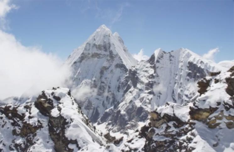 Satriecoscaronais video... Autors: zeminem Dronu aizsūtīja uz augstāko Himalaju virsotni.