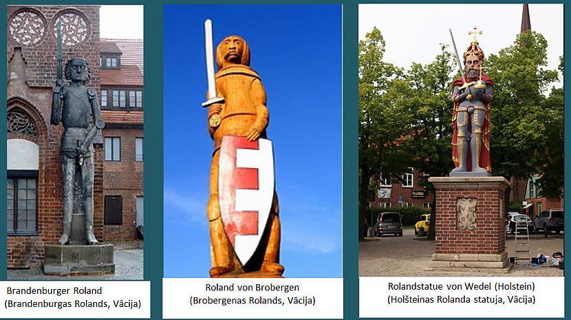 Rolanda statujas ir izvietotas... Autors: rasiks Par Rolandiem