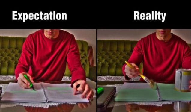 Autors: vikucis026 Iedomas vs. realitāte (netulkoti)