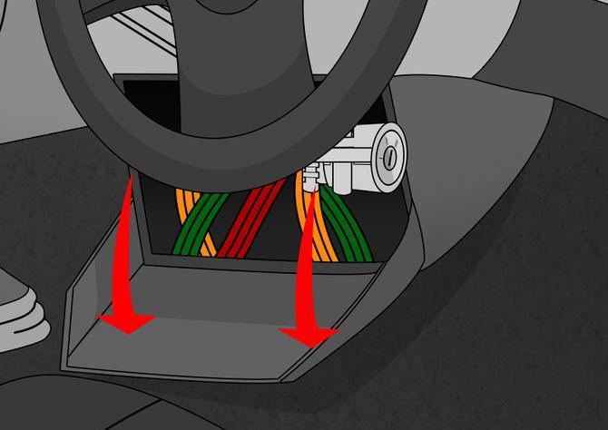Bet janbspjums ir jāiedarbina... Autors: Fosilija Kā iedarbināt automašīnu bez atslēgām?