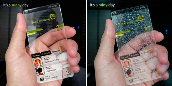 Mobilais tālrunis ndash... Autors: Razam4iks 8 interesanti mobilo tālruņu koncepti