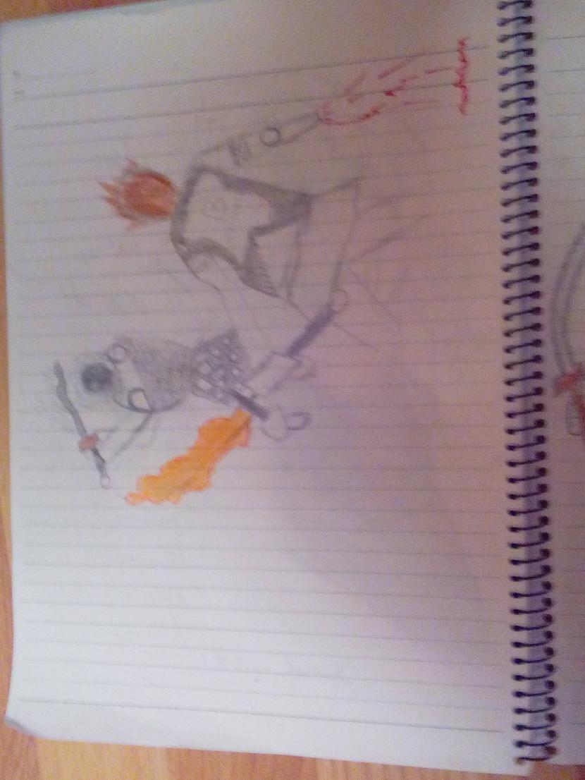 no augšas Autors: Tetsu Fooken Anime sketchs
