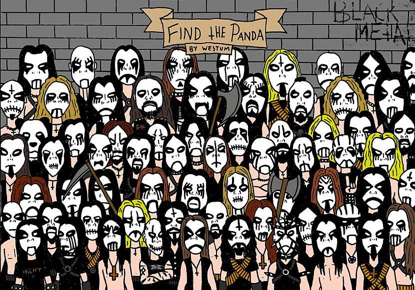 Scaronī bilde bija otrā kura... Autors: Lords Lanselots Tu vari atrast Pandu?