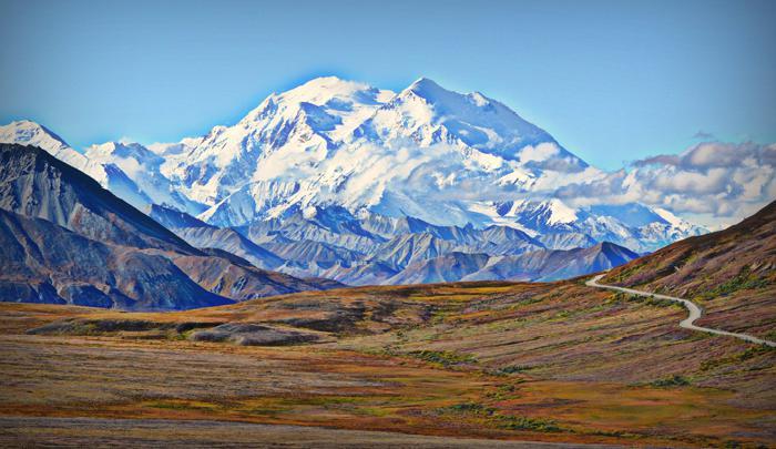 2vieta sudrabs  Denali Aļaska... Autors: AreYouFuckingKiddingMe Top 5 skaistākie kalni