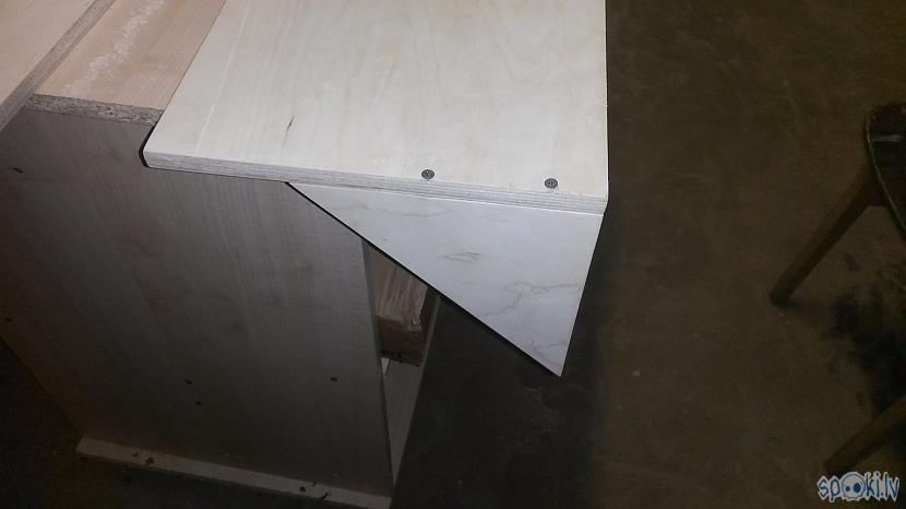 Skrūvēju trīstūrīscaronus klāt... Autors: Bruzis Viens un divi - pakaramais gatavs.