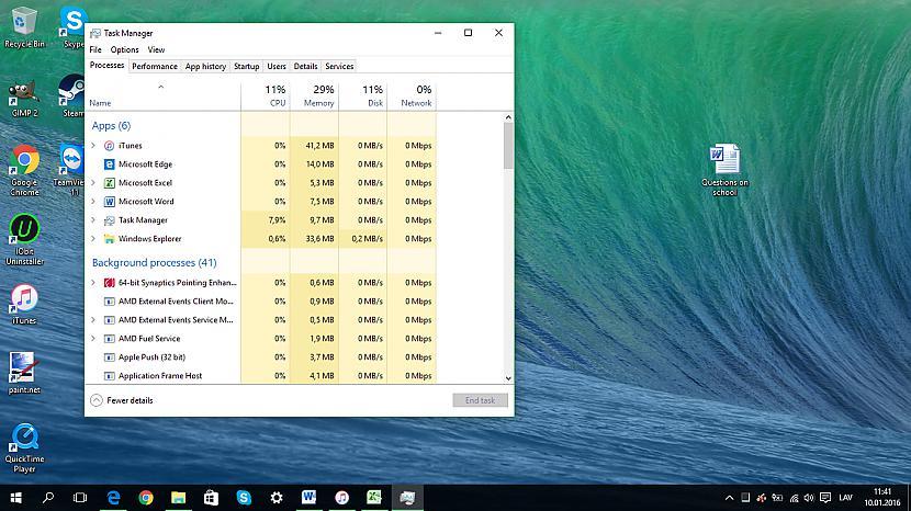 Vēl labāks Task Manager... Autors: Fosilija Lietas, kas man patīk Windows 10