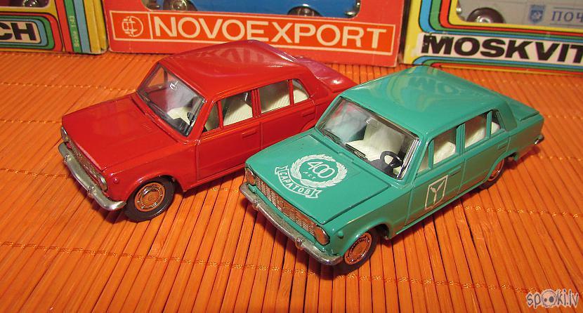 VAZ2101 quotSaratov  400quot Autors: pyrathe Mani CCCP automodelīši 1/43: kolekcijas papildinājums