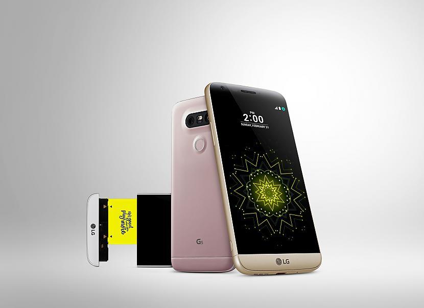 Autors: iStylelv LG prezentē jauno flagmani - pirmo modulāro viedtālruni LG G5