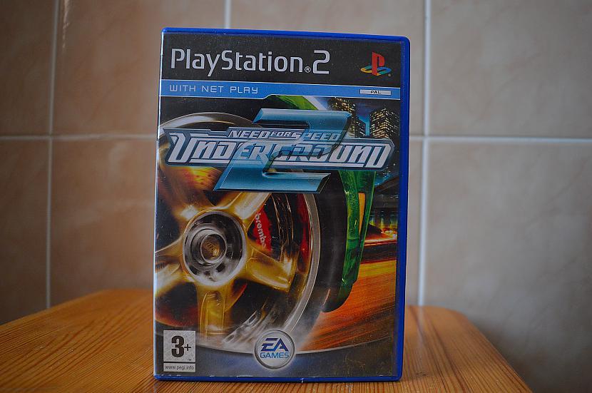 Need For Speed Underground 2 Autors: Hank Moody Mana spēļu kolekcija! PS2