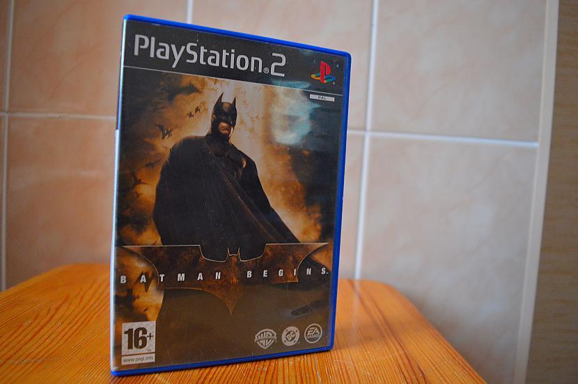 Batman Begins Autors: Hank Moody Mana spēļu kolekcija! PS2