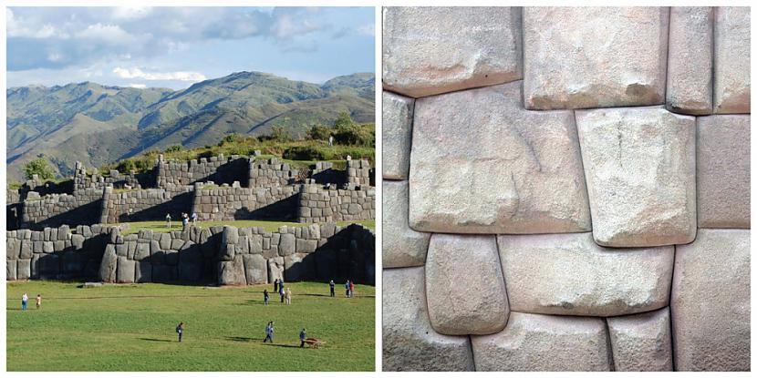 Tempļu komplekss PeruAntīkais... Autors: sfinksa Neizskaidrojamais mums apkārt..