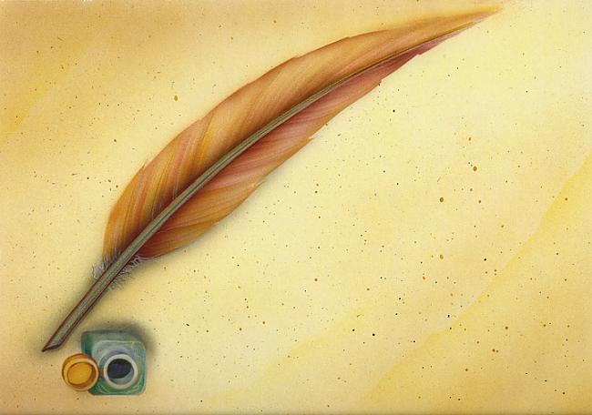 Ap 600 gadu rakstīscaronanai... Autors: korvete Rakstāmpiederumi gadu gaitā