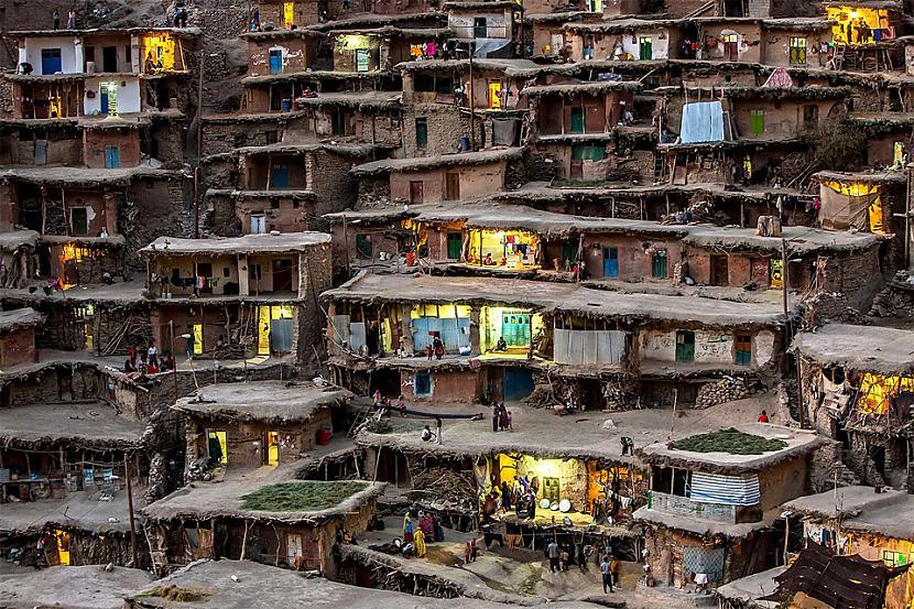 Kalnu ciems Irānā Foto autors... Autors: Liver Skaistāko pasaules ciemu fotogrāfijas