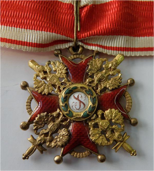 Svētā nbspStaņislava ordeni... Autors: Boleslavs89 Igaunijas leģiona 20.divīzijas artilērijas pulka komandieris Aleksandrs Soboļevs
